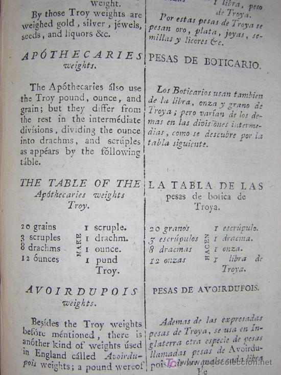 Libros antiguos: 1811 - GRAMATICA DE LA LENGUA INGLESA QUE CONTIENE REGLAS PARA SU PRONUNCIACION - Imprenta Real - Foto 9 - 25278025