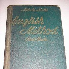 Libros antiguos: 1925 - METODO MASSE - INGLES 1º.. Lote 27462368