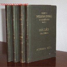 Libros antiguos: INGLES - METODO I.C.S. 4 TOMOS. Lote 18707631