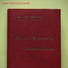 Libros antiguos: MANUAL DE CONVERSACION CASTELLANO-EUSKERA (1908). Lote 27366559