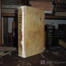 Libros antiguos: 1742 GRAMATICA SPAGNUOLA ED ITALIANA. LORENZO FRANCIOSINI. STAMPERIA BAGLIONI. PERGAMINO. DEDICADO. Lote 27275981