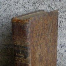 Libros antiguos: DICTIONARIUM MANUALE ..LATINO – HISPANUM .. MATRINI 1827. Lote 21589246