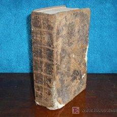 Libros antiguos: 1760 DICTIONARIUM UNIVERSALE LATINO-GALLICUM. BOUDOT. MUY RARO. Lote 26828280