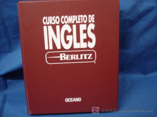 CURSO COMPLETO DE INGLES EN 14 CASSETTES - BERLITZ OCEANO (Libros Antiguos, Raros y Curiosos - Cursos de Idiomas)