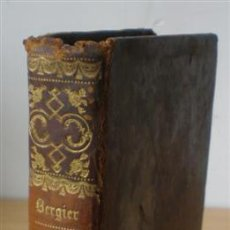 Libros antiguos: DICTIONNAIRE DE THEOLOGIE .. PAR L'ABBE BERGIER .. 2º TOMO .. 1838. Lote 14868927