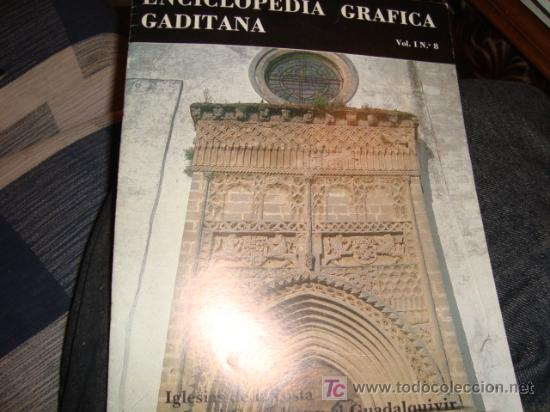 ENCICLOPEDA GRAFICA GADITANA, VOL. 1 N 8 (Libros Antiguos, Raros y Curiosos - Cursos de Idiomas)