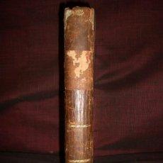 Libros antiguos: 0474- ARTE DE HABLAR BIEN FRANCÉS Ó GRAMATICA COMPLETA. NICOLAS CHANTREAU. IMP. J. ALZINE. 1816. Lote 19940458
