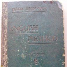 Libros antiguos: ENGLISH METHOD- AÑOS 20. Lote 26587800