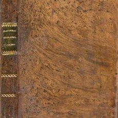 Libros antiguos: ARTE DE HABLAR BIEN FRANCÉS – AÑO 1838. Lote 27276468
