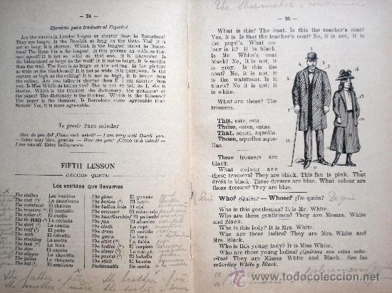 Libros antiguos: MÉTODO PRÁCTICO DE INGLÉS - MÉTODO MASSÉ-DIXON - PRIMERA PARTE - SIN FECHAR (AÑOS 20?) - Foto 3 - 31774067