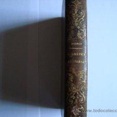 Libros antiguos: GRAMATICA PRACTICA PARA APRENDER A LEER TRADUCIR HABLAR ESCRIBIR EL IDIOMA FRANCES LUIS BORDAS 1871. Lote 32687993