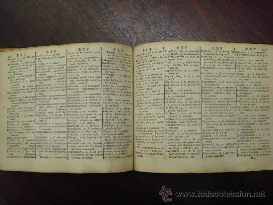 Libros antiguos: Nouveau Dictionnaire de poche Français espagnol. 1798. 2 Volumenes - Foto 3 - 32139683