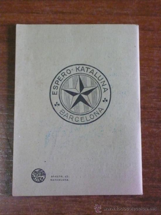 Libros antiguos: ESPERANTO, LLENGUA AUXILIAR INTERNACIONAL. ¿QUÈ ÉS? ¿QUÈ PRETÉN? - Foto 3 - 38218640