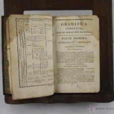 Libros antiguos: 4234- GRAMATICA COMPLETA ARTE DE HABLAR BIEN FRANCES. PEDRO NICOLAS. EDIT.CASA DE YVERNAUD. 1811. . Lote 41036288