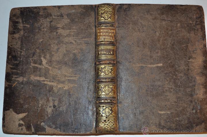 NUEVA GRAMÁTICA FRANCESA, CON UN NUEVO MÉTODO PARA APRENDER À PRONUNCIAR. TOMO PRIMERO. RM64831-V (Libros Antiguos, Raros y Curiosos - Cursos de Idiomas)