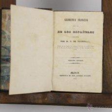 Libros antiguos: D-447. GRAMATICA FRANCESA. F. DE TRAMARRIA. IMP. EUSEBIO AGUADO. 1841. Lote 43291605