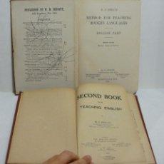 Libros antiguos: METHOD FOR TEACHING MODERN LANGUAGUES. 2 VOLUMENES. 1914. Lote 44074144