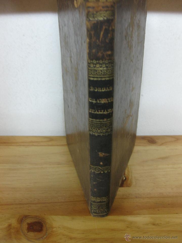 NUEVA GRAMATICA ITALIANA. LUIS BORDAS.BARCELONA IMP. DE TOMAS GORCHS 1838. (Libros Antiguos, Raros y Curiosos - Cursos de Idiomas)