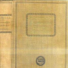 Libros antiguos: LLOBERA : GRAMMATICA CLASSICAE LATINITATIS (BARCINONE, MCMXX). Lote 45337125