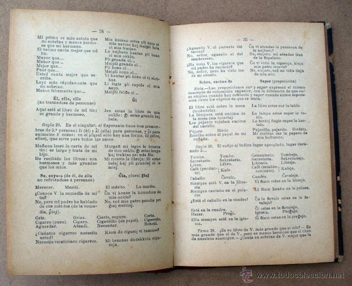 Libros antiguos: CURSO PRACTICO DE ESPERANTO, R.DUYOS - V.INGLADA - Foto 3 - 45373896