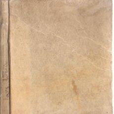 Libros antiguos: DE INSTITUTIONE GRAMMATICAE PARS ALTERA - AÑO 1845. Lote 46347326