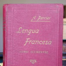 Libros antiguos: CURSO ELEMENTAL DE LENGUA FRANCESA. Lote 46351093