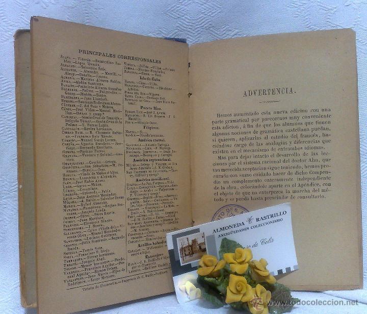 Libros antiguos: AÑO 1.888.- METODO DE AHN. PRIMER CURSO DE FRANCES POR H.MAC-VEIGH. - Foto 5 - 234549770
