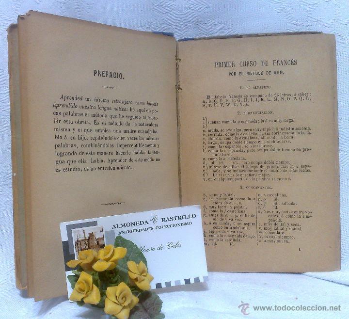 Libros antiguos: AÑO 1.888.- METODO DE AHN. PRIMER CURSO DE FRANCES POR H.MAC-VEIGH. - Foto 6 - 234549770