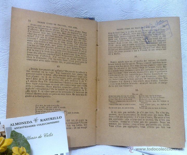 Libros antiguos: AÑO 1.888.- METODO DE AHN. PRIMER CURSO DE FRANCES POR H.MAC-VEIGH. - Foto 7 - 234549770