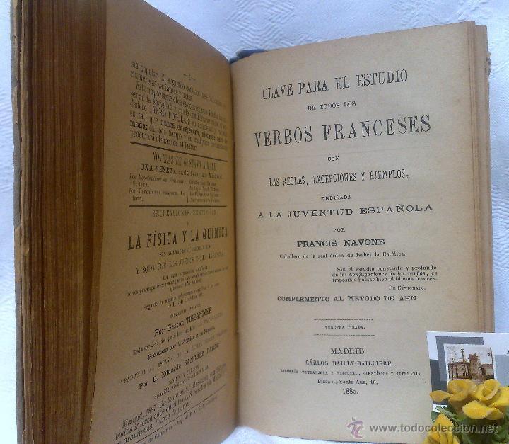Libros antiguos: AÑO 1.888.- METODO DE AHN. PRIMER CURSO DE FRANCES POR H.MAC-VEIGH. - Foto 12 - 234549770