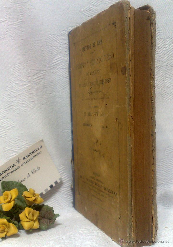 Libros antiguos: AÑO 1.888.- METODO DE AHN. PRIMER CURSO DE FRANCES POR H.MAC-VEIGH. - Foto 14 - 234549770