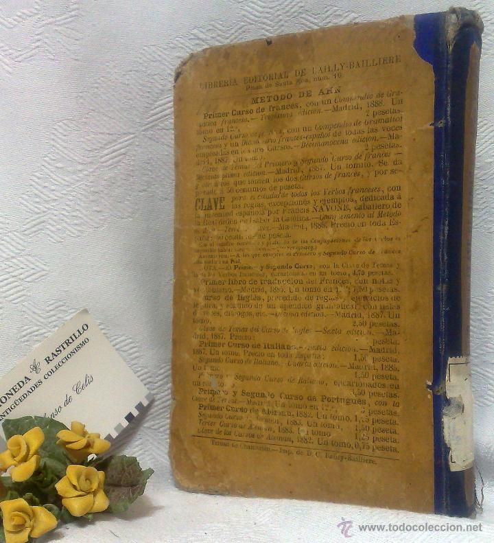 Libros antiguos: AÑO 1.888.- METODO DE AHN. PRIMER CURSO DE FRANCES POR H.MAC-VEIGH. - Foto 15 - 234549770