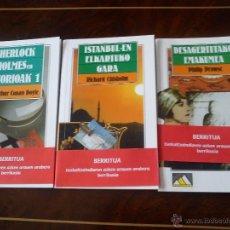 Libros antiguos: SHERLOCK HOLMESEN HISTORIOA-ISTAMBULEN ELKARTUKO GARA-DESAGERTUTAKO EMAKUMEA. Lote 49401820
