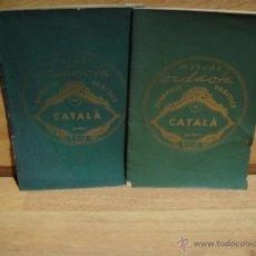 Libros antiguos: METODO DIDACTA EXERCICIS PRACTICS DE CATALA - CUADERNOS 1 Y 2. Lote 50876313