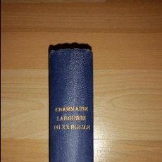 Libros antiguos: GRAMMAIRE LAROUSSE DU XXE SIÈCLE. GAIFFE FÉLIX; ERNEST MAILLE; ERNEST BREUIL - ED. LAROUSSE - 1936. Lote 51803878