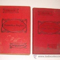 Libros antiguos: EDUARDO BENOT. GRAMÁTICA INGLESA Y MÉTODO PARA APRENDERLA. DOS TOMOS. RM72523. . Lote 53462928