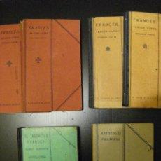 Libri antichi: LOTE UGARTE BLASCO. CURSO DE FRANCÉS. 1927. Lote 53754963