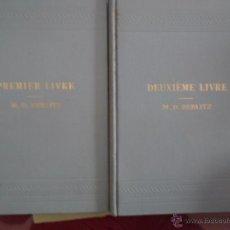 Libros antiguos: PREMIERE LIVRE/DEUXIEME LIVRE, L'ENSEIGNEMENT DES LANGUES MODERNES, M.D BERLITZ, 1915. Lote 53911715