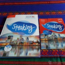 Libros antiguos: SPEAKING Nº 1, EL CURSO DEFINITIVO DE INGLÉS. CAMBRIDGE UNIVERSITY PRESS. CD1 Y MP3.. Lote 54673651