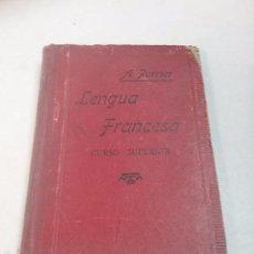 Libros antiguos: LIBRO DE LENGUA FRANCESA , CURSO SUPERIOR POR ALPHONE PERRIER . Lote 57507661