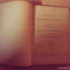 Libros antiguos: ELEMENTOS DE LA GRAMATICA FRANCESA CAYETANO CASTELLON Y PINTO 1892. Lote 59104450