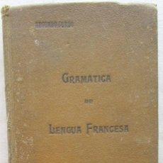 Libros antiguos: GRAMÁTICA DE LA LENGUA FRANCESA. SEGUNDO CURSO. PEDRO FÁBREGA, 1930.. Lote 60919451