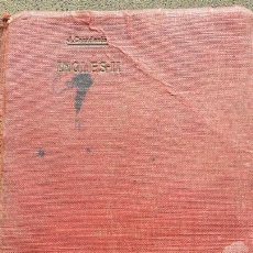 Libros antiguos: ESTUDIO DEL IDIOMA INGLÉS II. CURSO MEDIO POR JOSE CASADESÚS. IMPRENTA DE PEDRO ORTEGA 1917. Lote 62809091