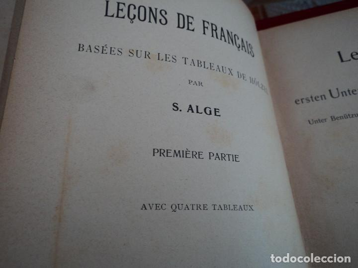 Libros antiguos: LECCIONES DE FRANCES CONFORME AL METODO ALGE PARA USO DE LOS ALUMNOS DE TODAS LAS NACIONES - Foto 2 - 64134235