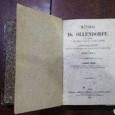 Libros antiguos: MÉTODO DEL DR. OLLENDORFF. EDUARDO BENOT. Lote 64558971