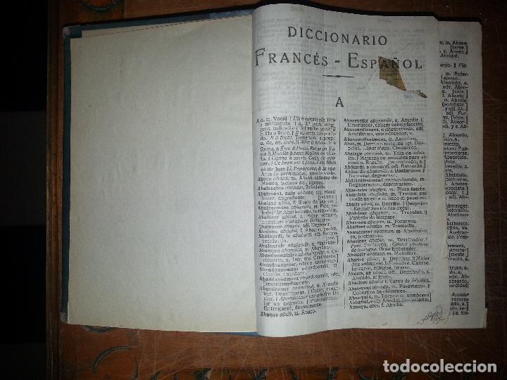 Libros antiguos: antiguo diccionario frances español 1600 patinas - Foto 5 - 68204221