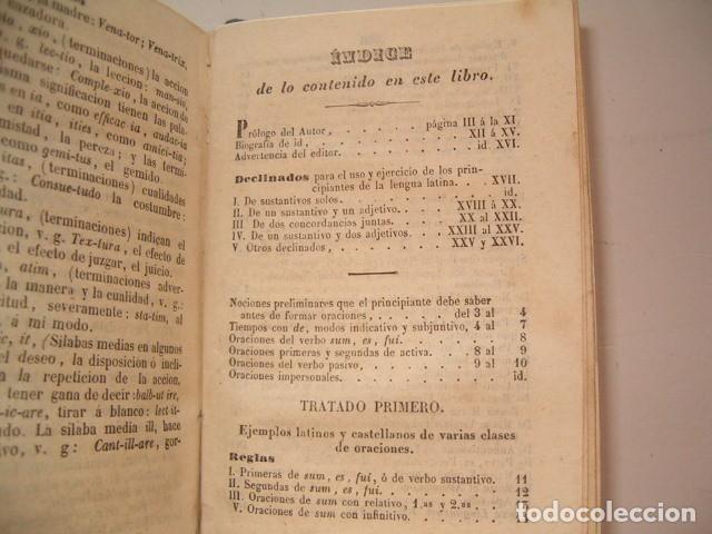 Libros antiguos: Colección Tratados Auxiliares para facilitar el estudio y enseñanza de la Lengua Latina. RM77712 - Foto 4 - 68562757