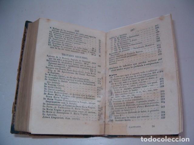Libros antiguos: Colección Tratados Auxiliares para facilitar el estudio y enseñanza de la Lengua Latina. RM77712 - Foto 5 - 68562757