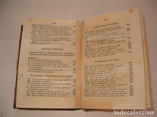 Libros antiguos: Colección Tratados Auxiliares para facilitar el estudio y enseñanza de la Lengua Latina. RM77712 - Foto 6 - 68562757