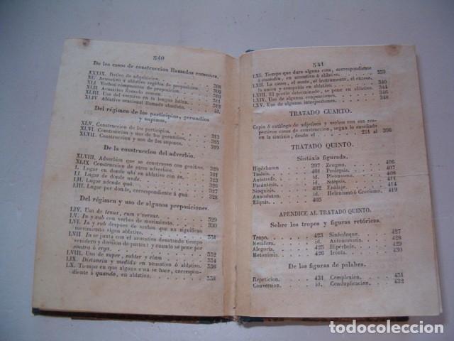 Libros antiguos: Colección Tratados Auxiliares para facilitar el estudio y enseñanza de la Lengua Latina. RM77712 - Foto 7 - 68562757